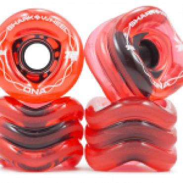 Shark Wheel DNA 72mm 78A Transparent Red