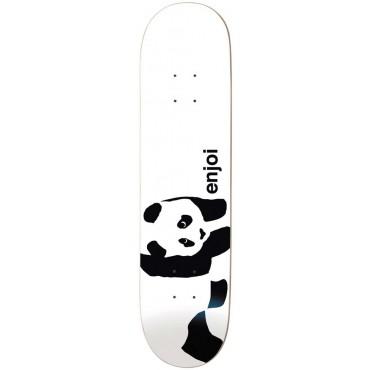 """ENJOI Whitey Panda 7.75"""" R7 Deck white"""
