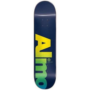 "ALMOST Fall Off Logo 8,5"" HYB Deck blue"