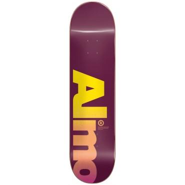 "ALMOST Fall Off Logo 8,0"" HYB Deck magenta"