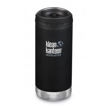KLEAN KANTEEN Trinkflasche TKWide 355 ml (12 oz) mit Café Cap shale black