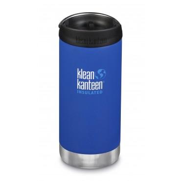 KLEAN KANTEEN Trinkflasche TKWide 355 ml (12 oz) mit Café Cap deep surf