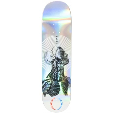 """MADNESS Clay Kreiner Inside out Impact Light Deck 8.25"""" Holographic"""