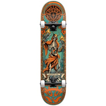 "DARKSTAR Axe FP Premium Complete Skateboard  8.0"" orange"
