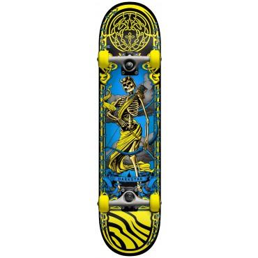 "DARKSTAR Arrow FP Complete Skateboard 7,5"" yellow"