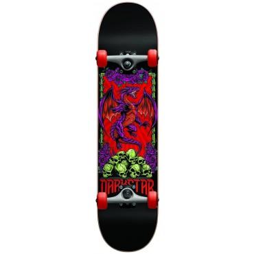 "DARKSTAR Levitate FP Complete Skateboard 7,0"" red"
