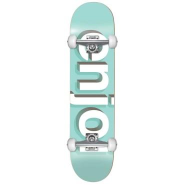 "ENJOI Helvetica Neue 8.0"" FP Complete Skateboard - Aqua"
