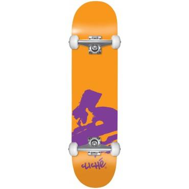 CLICHE Europe FP Complete Skateboard 7.875 orange