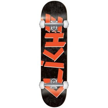 CLICHE Scotch FP Complete Skateboard 7.75 black red