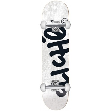 CLICHE Handwritten FP Complete Skateboard 8.25 white