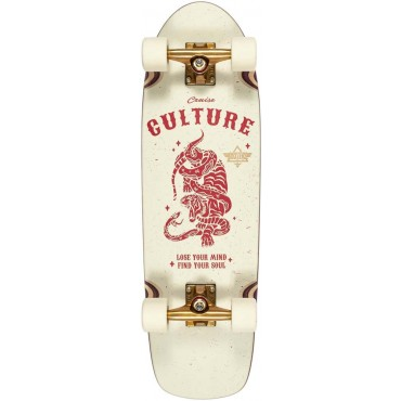 """DUSTERS Culture Cruiser 29"""" Complete off-white red"""