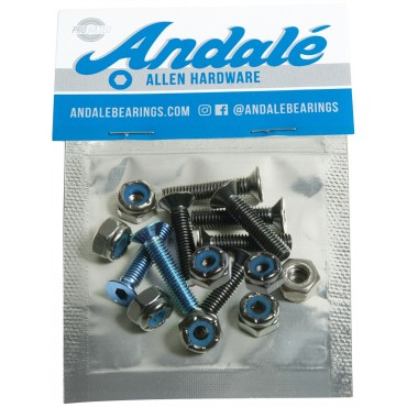 "ANDALE mount set Allen 7/8"" - Blue"