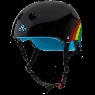 TRIPLE 8 Sweatsaver Certified Helmet Rainbow black
