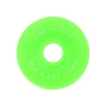 Mini Logo Wheels A-Cut #3 53mm 90A green