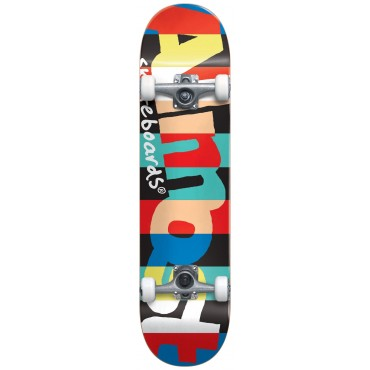 """ALMOST RUGBY RESIN YTH  7.375"""" Youth FP Complete Skateboard"""