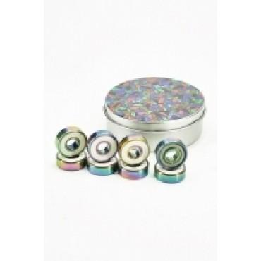 BLURS Titanium Abec 9 colorful Kugellager