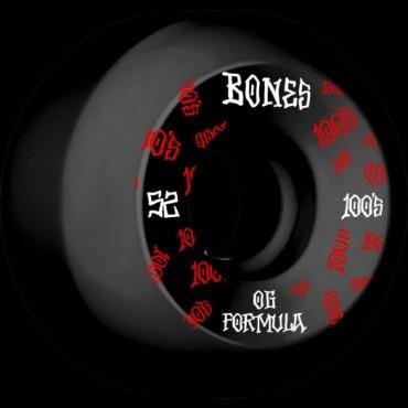 Bones Wheels 52mm 100´s OG #3 V5 Sidecut 100A