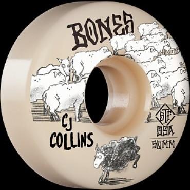 Bones Wheels STF 50mm V3 Collins Black Sheep Slims 99A