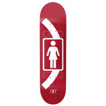 """GIRL Brophy Product red 8.25"""" Deck"""