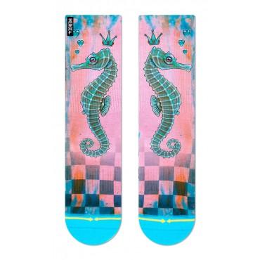 MERGE4 Sock Caia Koopman Seahorse women one size