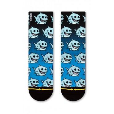 MERGE4 Sock Chump Magic Fat Shark youth L