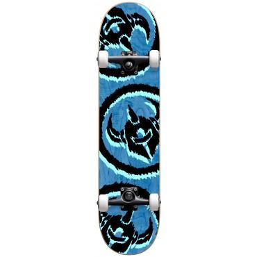 """DARKSTAR Dissent FP Premium Complete Skateboard  7,875"""" blue"""