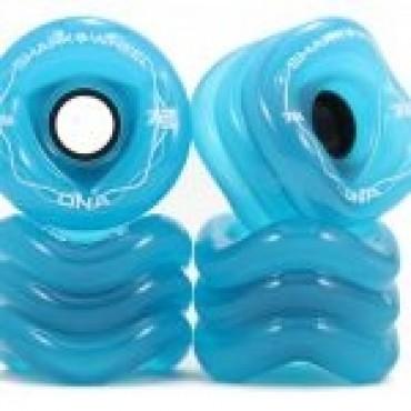 Shark Wheel DNA 72mm 78A Transparent Blue