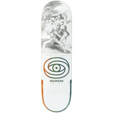 """Madness Donde R7 8,5"""" Deck white"""