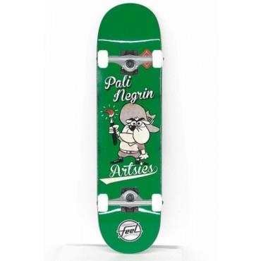 FEEL Artsies Complete Skateboard 8,0 green