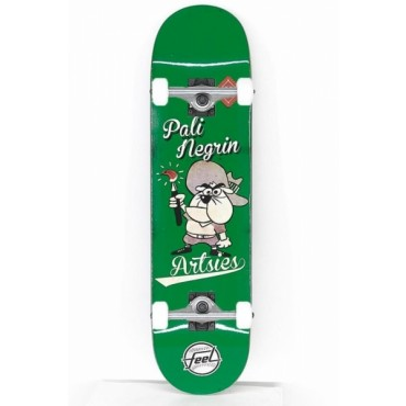 FEEL Artsies Complete Skateboard 8,1 green