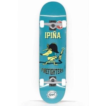 FEEL Firefighters Complete Skateboard 7,75 blue