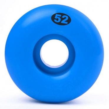 Solid Wheels 52mm bue