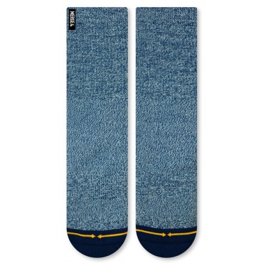 MERGE4 Sock Blue Heather L