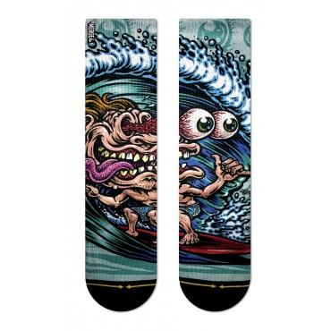 MERGE4 Sock Jimbo Surf freak youth L