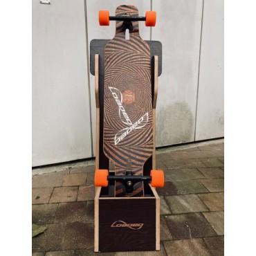 LOADED single board freestanding display
