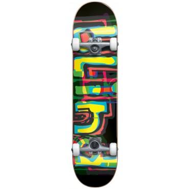 """BLIND Logo Glitch FP Complete Skateboard 7,875"""" black"""