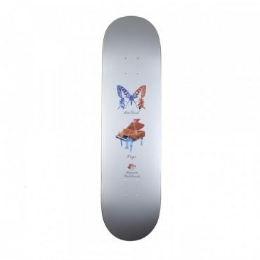 """MAGENTA Butterfly Hugo Maillard 8.125"""" Deck"""