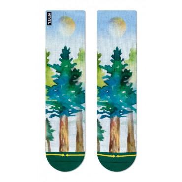 MERGE4 Sock Maia Negre Redwood M