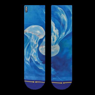 MERGE4 Sock Maia Negre Jellyfish M
