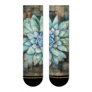 MERGE4 Sock Maia Negre Succulent women one size