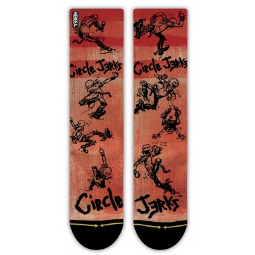 MERGE4 Sock Circle Jerks Skank L