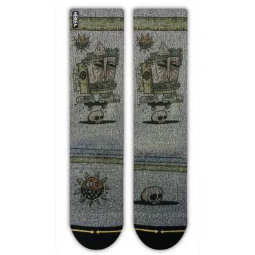 MERGE4 Sock Bad Otis Link Pretty L