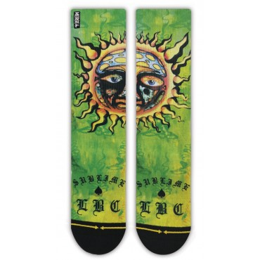 MERGE4 Sock Sublime Sun M