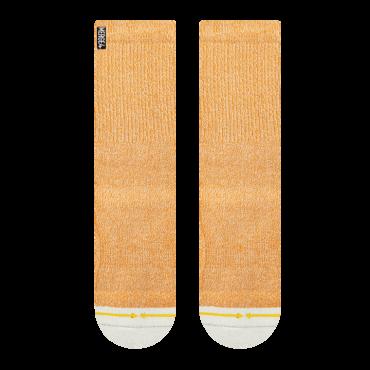 MERGE4 Sock Orange Heather L