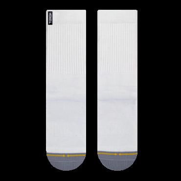 MERGE4 Sock Repreve M white
