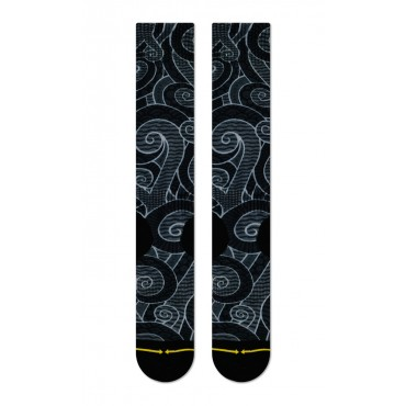 MERGE4 Sock Snowsports Black L