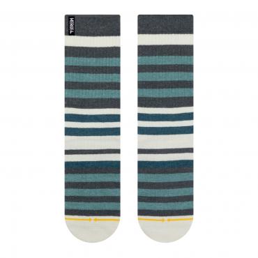 MERGE4 Sock Tencel/ Hanf Beach stripe L