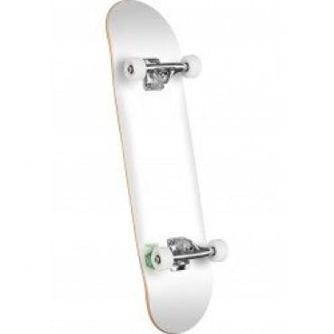 MINI LOGO Chevron Detonator mini Complete Skateboard 7,5 white