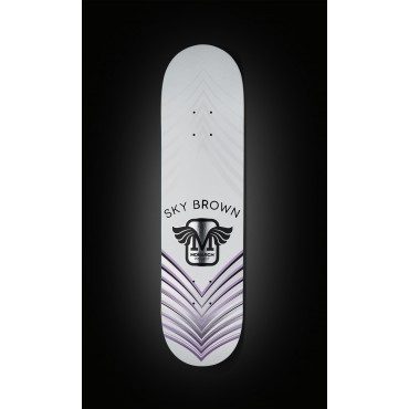 "MONARCH Sky Brown Horus 7.75"" R7 Deck purple"