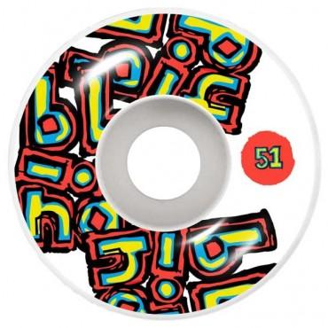 Blind Og Stacked Wheels 51mm white